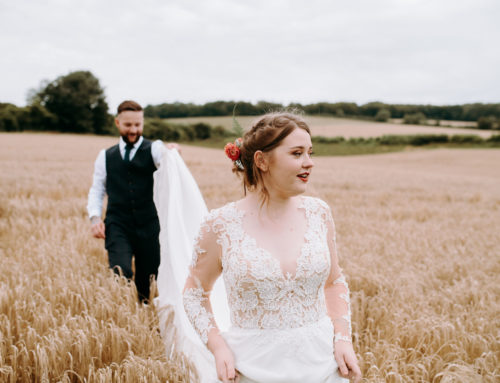 Bold & Unique  | Couples Story | Cotswold Barn Wedding