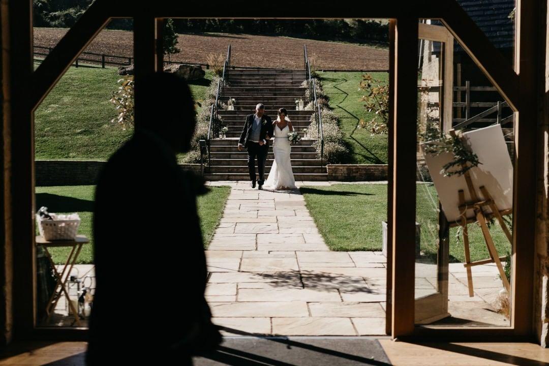 Cotswold Barn Wedding Ceremony